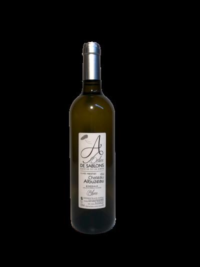 Bordeaux blanc_Prestige - Château Albuzeau à Sablons